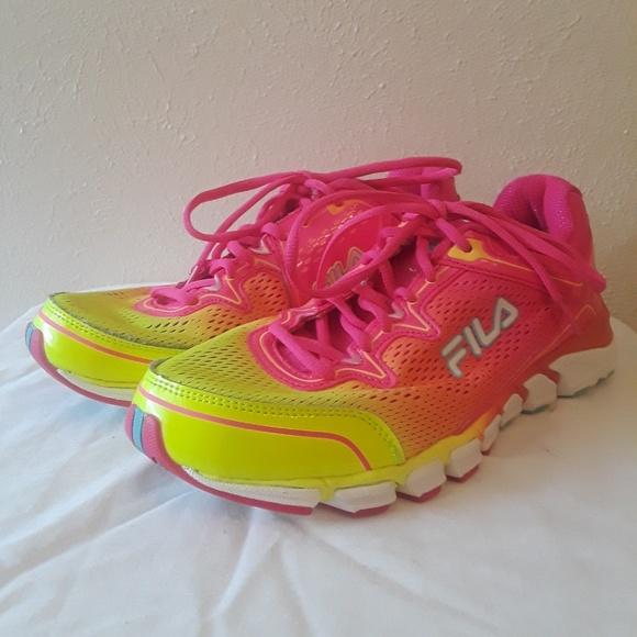 Damen Fila Rosa Schuhe: Fila Decimal